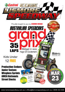 Lismore Nissan Australian Speedcar Grand Prix @ Lismore Speedway