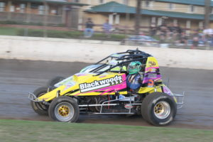 Wingless Sprints 50 Lap Grand Prix/ AMCA Nationals Andrew Walker Shield