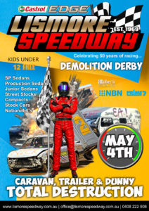 The Australian Demolition Derby @ Lismore Speedway