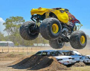 Monster Truck + Monster Fireworks + Production Sedan Sizzler